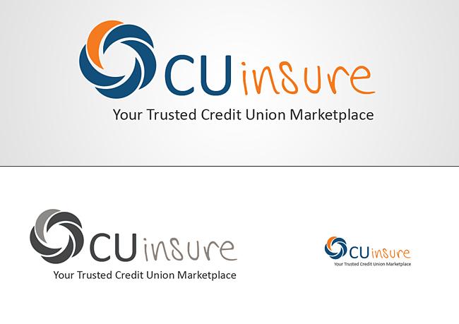 Phd portfolio credit union insurance logo business card design cuinsure logo colourmoves