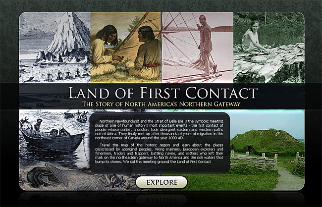 Land of First Contact Splash